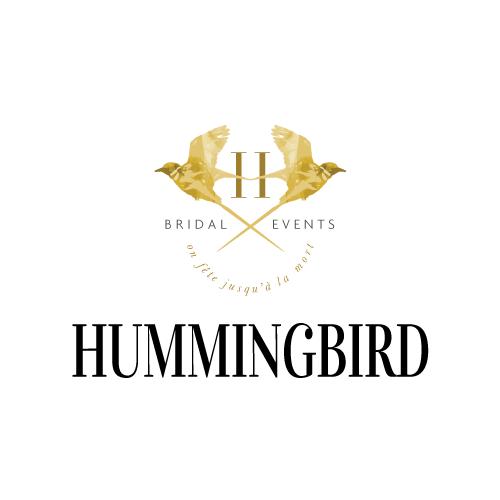 Hummingbird Bridal Picture